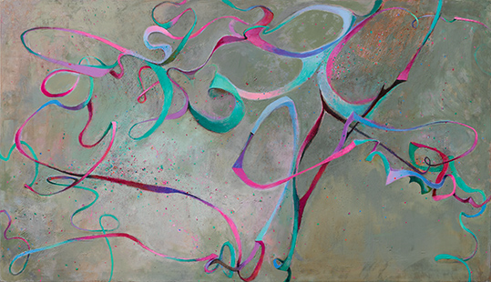 Come Dance With Me  2013-15, 178 x 305 cm