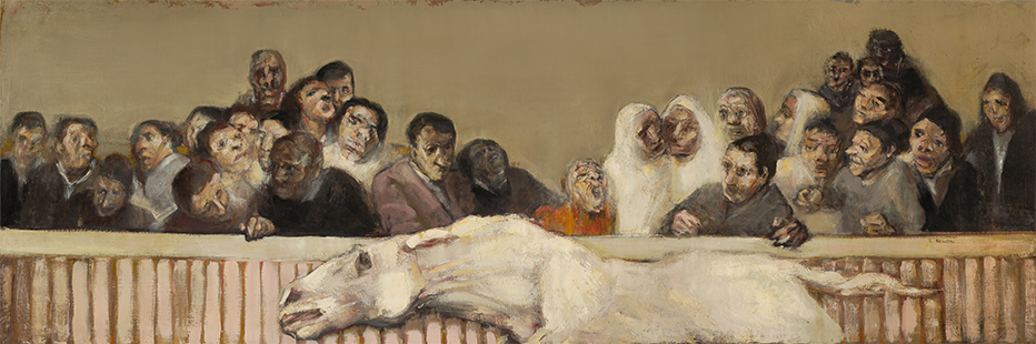 Corrida  1955-6, 100 x 300 cm, oil on canvas (Tate Britain)    (i)