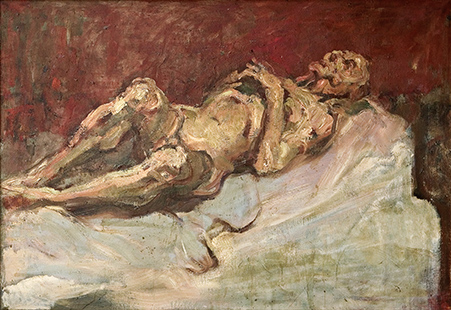 Study Of An Old Man  1955, 92 x 67 cm, oil on canvas