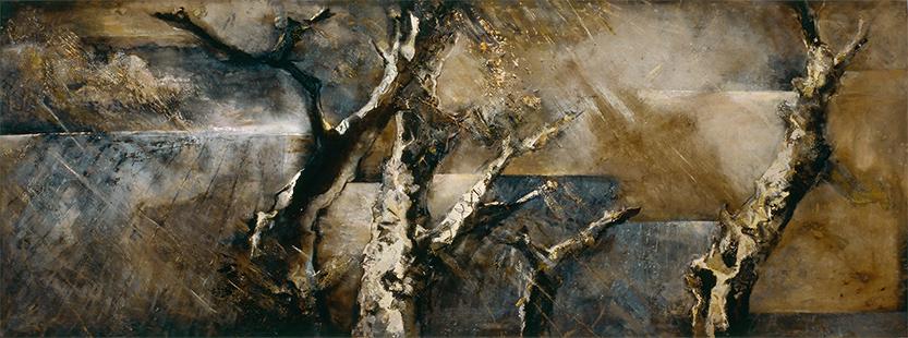 December Wind And Rain  1983-2011, 173 x 457 cm