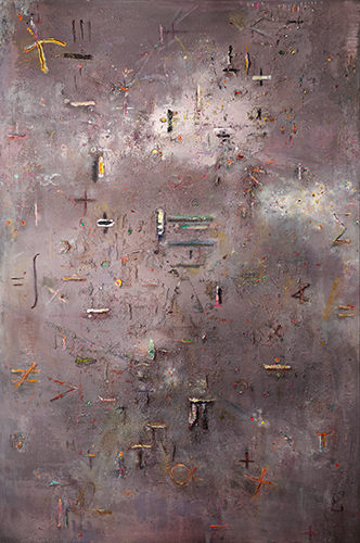 Emerging Symbols  1998-2016, 183 x 122 cm