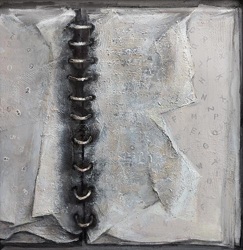 Filofax Memory Loss  1998-2014, 63 x 61 cm