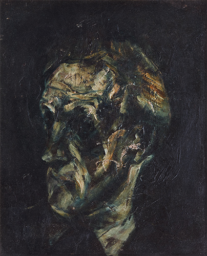 Portrait Of David Williams  1956, 54 x 45 cm, oil on canvas