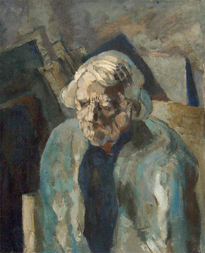 Granny Gracie  1953, 76 x 60.5 cm, oil on canvas