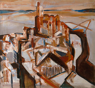 Arcos De La Frontera  1961, 210 x 206 cm, oil on board