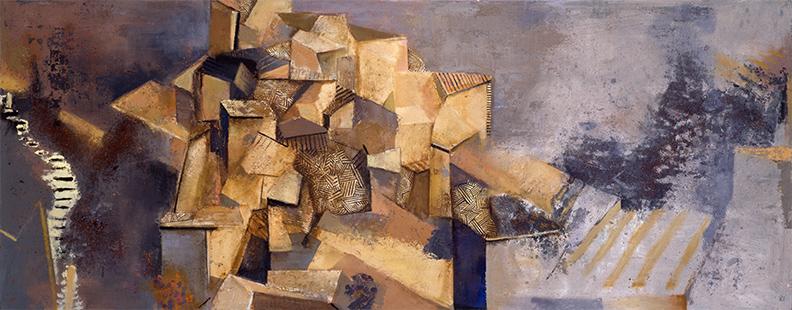 Landscape I  1989-1990, 118 x 305 cm (Anderson Consulting)
