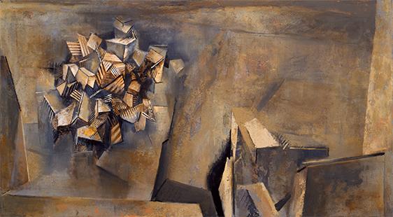 Pueblo III  1987-1990, 168 x 305 cm