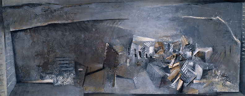 Towards Zamora  1986-88, 122 x 305 cm (Zeneca)
