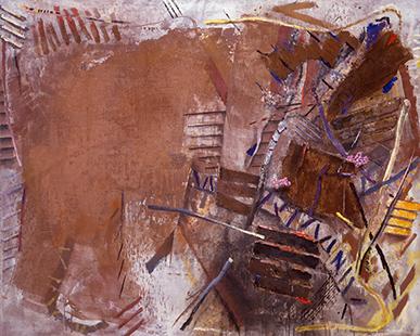 Landscape  1982, 244 x 306 cm