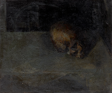Skull III  1953, 61 x 51 cm 1953, oil on canvas