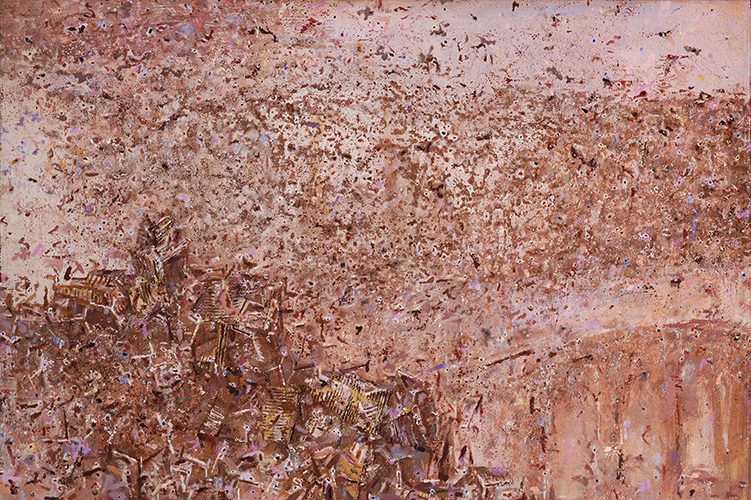 Slow Appearance I  1995-2008, 122 x 181 cm