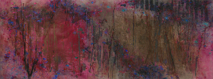 Purple Marsh  1983-2013, 173 x 458 cm