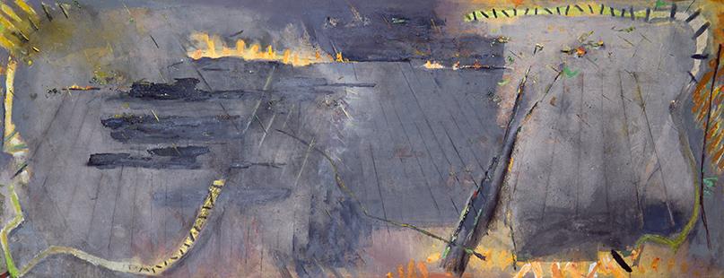 Fire Wind And Rain  1983-4, 168 x 457 cm (Museum of Modern Art, Murcia, Spain)
