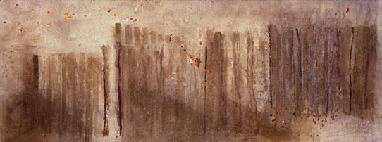 Chantilly  1981, 168 x 457 cm (Tonbridge School)