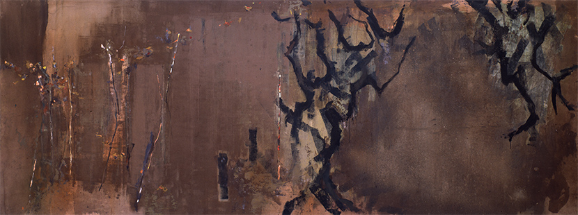 Brown Field  1982-1992, 173 x 458 cm