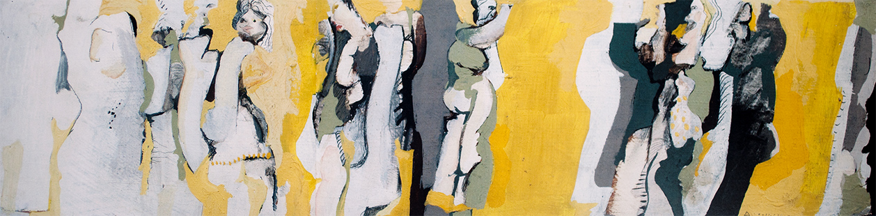 Yellow Dancers  1965 12 x 50 cm