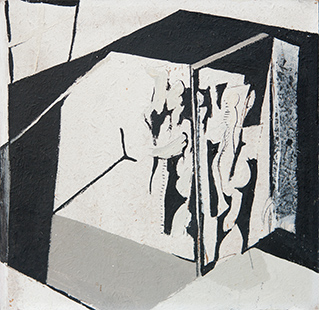 Interior With Musicians  1967 23 x 23 cm