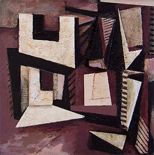 Deceptions  1991-2, 46 x 46 cm