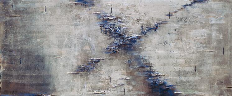 Still Hythe  1981-1999, 152 x 366 cm