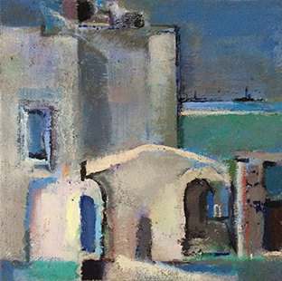 Seaview  2007-9, 35 x 35 cm