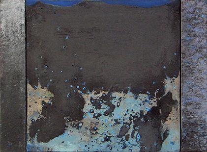 Blue Wave  2001-2, 40 x 55 cm
