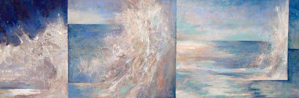 Wave  1999-2001, 56 x 168 cm