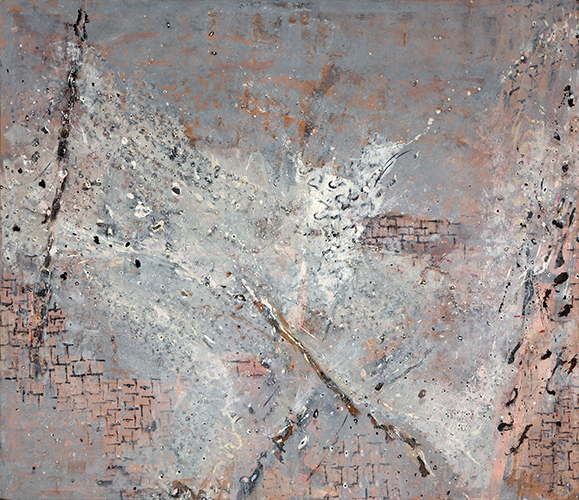 Mousehole Harbour  1999-2000, 237 x 274 cm