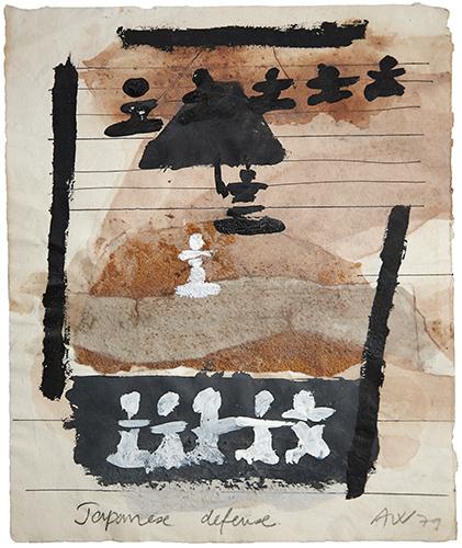 Japanese Defense  1979, 24 x 20 cm, work on paper