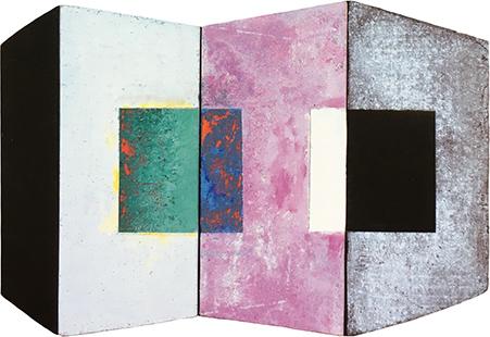 Explorations - Shaped Interior  2002, 39 x 58 cm