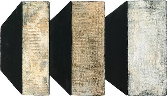 Four Positions  2002, 40 x 71 cm