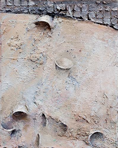 Downstream Brasura II  2003-4, 51 x 41 cm