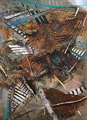Spinney  1983-4, 254 x 173 cm