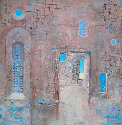 Still Interior  2003-12, 107 x 107 cm