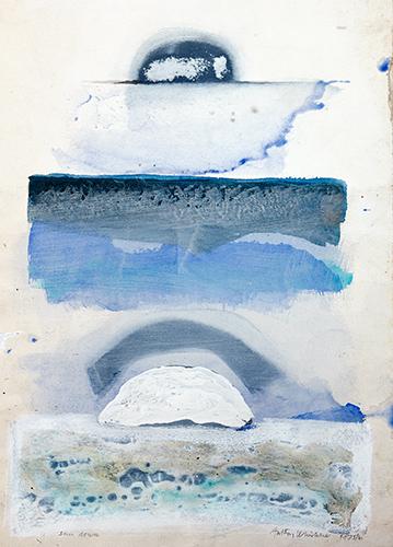 Sundown  1975-6, 56 x 38 cm
