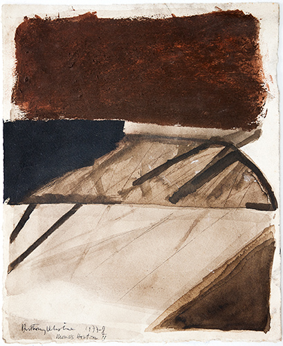 Monks Horton II  1977-8, 34 x 28 cm