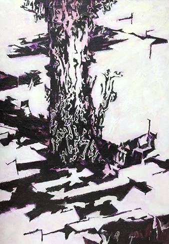Shadows  2004-14, 213 x 152 cm