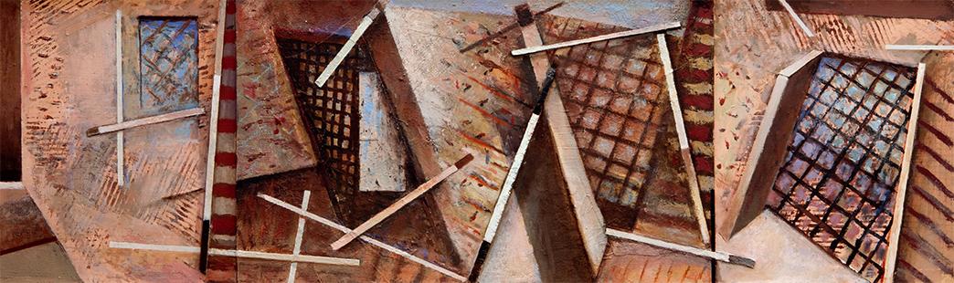 Interior Variations II  1994-2014, 36 x 122 cm