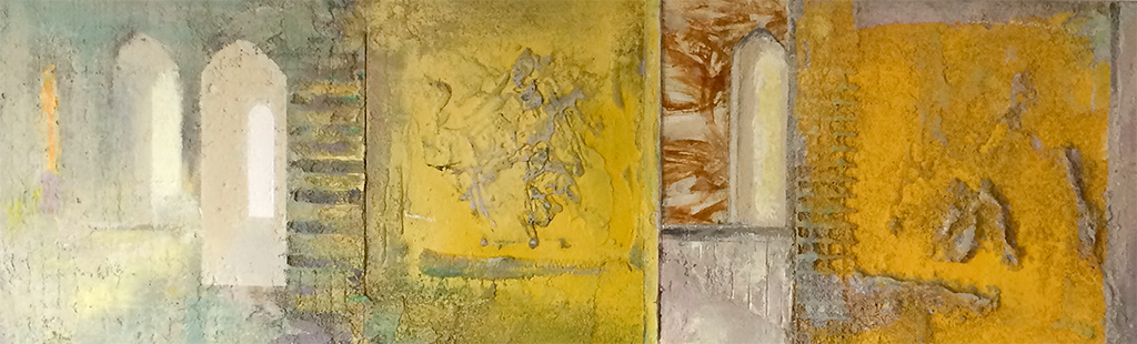 Sunlit Cloisters  2000-04, 30 x 96 cm