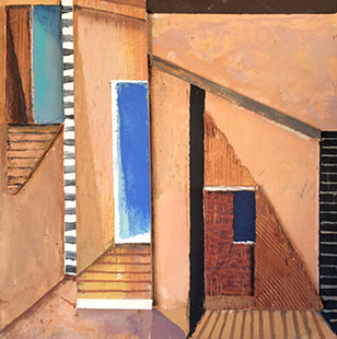 Three Doorways  1992, 22 x 21.5 cm