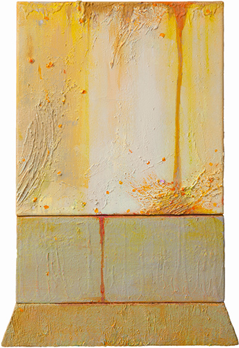 Ochre Weir  2005-10, 64 x 40 cm