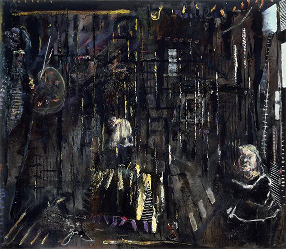 Vanitas  1984-1996, 244 x 211 cm