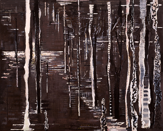 Lyminge Forest  1991-2, 242 x 301 cm