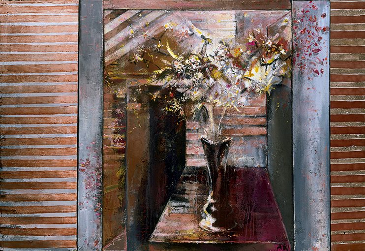 Bouquet  1988-2010, 153 x 225 cm