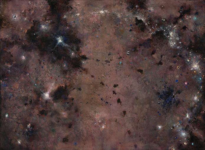 Celestial I  2007-10, 168 x 229 cm