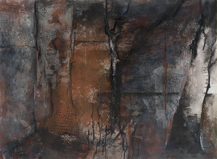 Woodland III  1999-2000, 83 x 112 cm