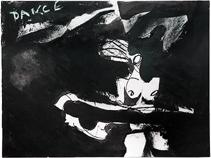 Dance Swirl  1966, 23 x 30 cm