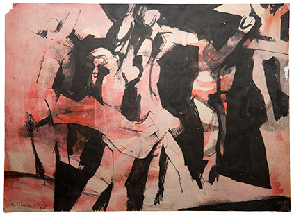 Let's Dance  1965, 27 x 37 cm