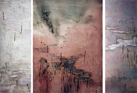 Marsh Triptych II  2002, 168 x 236 cm
