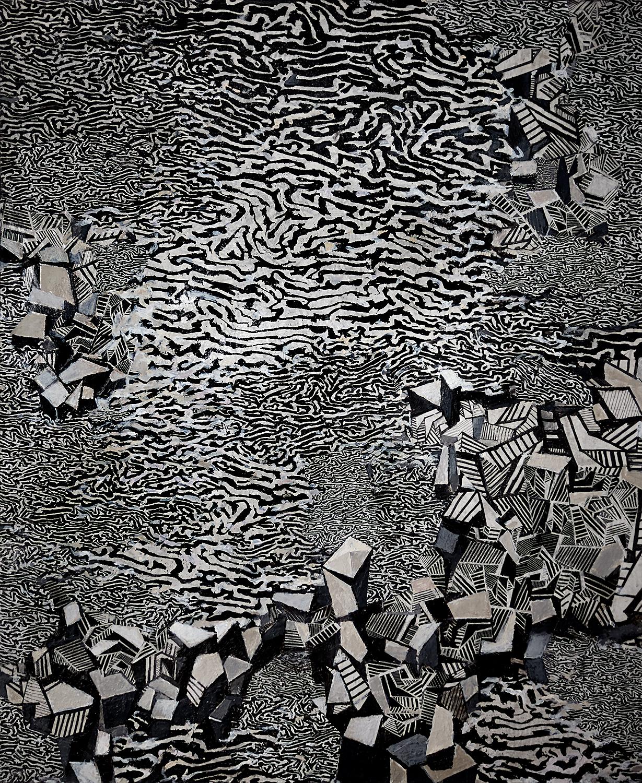 Urban Flood III 2004-6, 93 x 76 cm