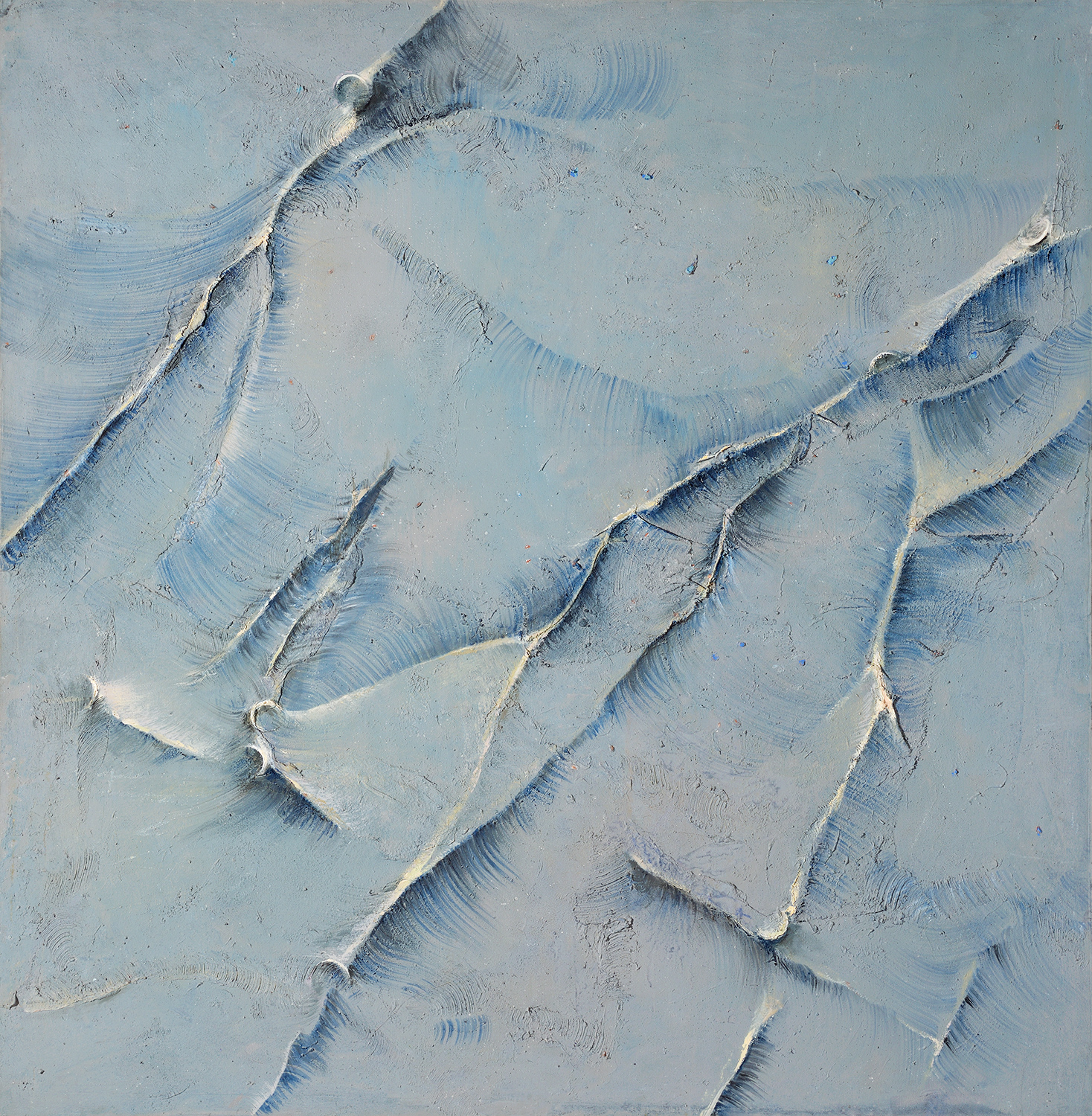 Downstream, Surface Tensions  2001-02, 210 x 206 cm